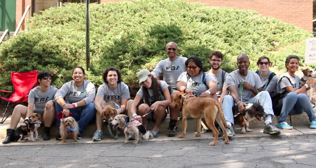 FBA Partners with Mutt Love at their weekly Pet Adoption Event in Fairfax, Va.